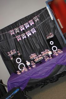 Rock and Roll Birthday Party | Delicate Construction