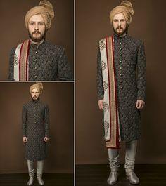 Classy Men's Sherwanis online at best price in Noida, Delhi Ncr | India. #PuneetandNidhi #WeddingSherwani #MensSherwani Contact us : Mobile No. 9350301018 Email:- designlablotus@gmail.com http://puneetandnidhi.com/about-us/