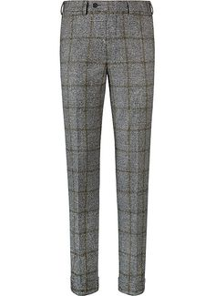 Suitsupply Pants : Inject some pep into your wardrobe and mix things up with our tailored pants and washed chinos with charm in its detailing. Mens Plaid Pants, Tailored Fashion, Mens Designer Shoes, Mens Fashion, Fashion Outfits, Gentleman Style, Mens Clothing Styles, Men Dress, Trousers