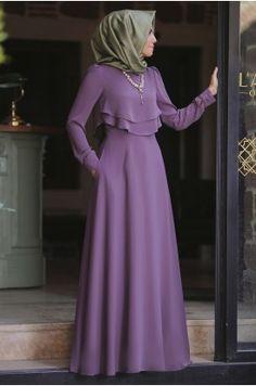 Modest Fashion Hijab, Modesty Fashion, Fashion Dresses, Muslim Women Fashion, Islamic Fashion, Simple Gown Design, Moslem Fashion, Hijab Evening Dress, Sleeves Designs For Dresses