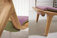 LayAir Armchair by Hookl und Stool