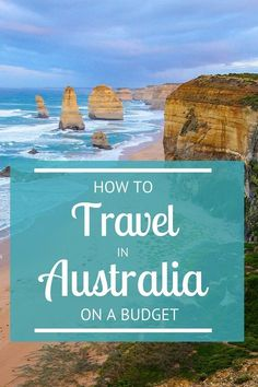 How to travel in Australia on a budget - everything you need to know for your trip down under! Australia is an expensive country to travel around. We share our tips for traveling Australia on a budget, saving a lot of money and having a great time Australia Travel Guide, Visit Australia, Australia Trip, Honeymoon In Australia, Western Australia, Melbourne Australia, Cheap Travel, Budget Travel, Perth