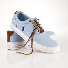 Vaughn Preppy Chino Sneaker - Polo Ralph Lauren Sneakers - RalphLauren.com