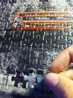 Detalle de puzzzle londinense