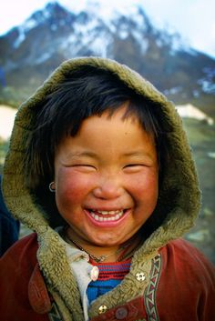 Tibetan refugee in Lower Mustang, Nepal ~ UNICEF Portraits