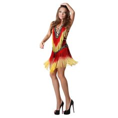 2018 New Ballroom Dance Dress Samba Costume for Women Sexy Leopard Print Salsa Dresses with Tassels Latin Dress Samba Costume, Salsa Dress, Fashion Leaders, International Fashion, Dance Dresses, Stylish Dresses, Costumes For Women, Swing Dress, Lace Dress