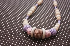 Ecofriendly Teething/ Nursing necklace for by NecklacesForMommy, $19.00