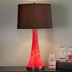 Art Glass Table Lamp Base