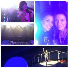 DJ ENO-C, Erica Greenfield and Susanne Alt last night... Thanks to de Otter creators and Dames Draaien Door! Photo by DJ ENO C. http://www.susannealt.com/weblog/gig-pics-iss-dome-dusseldorf/ #live #sax #vocals #party #housemusic