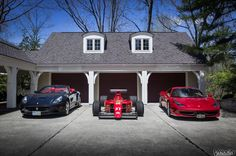 flic.kr/p/ssJ3L8 | Daily Drivers and the Track Toy! | Ferrari California, Ferrari F1-89 (640) and Ferrari 458 Italia