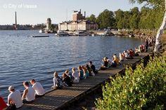 Photo: Jaakko J Salo Finland Cities In Finland, Finland Summer, Native Country, Midnight Sun, Natural Phenomena, Where The Heart Is, Archipelago, Homeland, Denmark