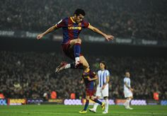 Pedro Rodriguez Barcelona Celebration Goal