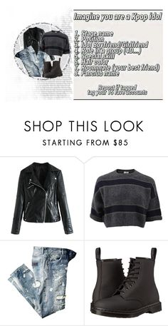 """"""":: imagine as... tag ::"""" by kat-oh-sparrow ❤ liked on Polyvore featuring Brunello Cucinelli and Dr. Martens"""
