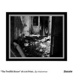 The Twelfth House 16 X 20 Astrology Print By Joco Black And White Posters
