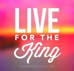 Live for the King!!