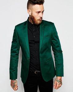 2017 Italian Design terno masculino Green Stain Men Suit Jacket costume homme Groom Tuxedos Mens Wedding Suits For Men Costume Groom Tuxedo, Tuxedo For Men, Formal Tuxedo, Wedding Men, Wedding Suits, Wedding Entourage, Wedding Groom, Costumes Slim, Smoking Noir
