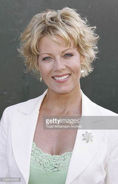 Barbara Niven Stock Photos and Wavy Haircuts, Haircuts For Fine Hair, Cute Hairstyles For Short Hair, Short Curly Hair, Short Wavy, Curly Bob, Short Hair With Layers, Short Hair Cuts For Women, Medium Hair Styles
