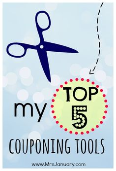 If you use coupons, there are a few things that you should have on hand at all times if you want to maximize your savings at the grocery store. Here are 5 couponing tools I couldn't live without!