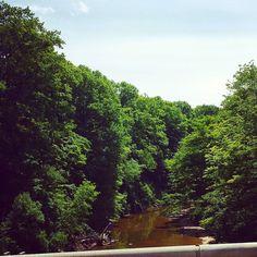 Cazenovia Creek near West Falls NY #CazenoviaCreek
