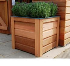 Western Red Cedar Planters Accessories Image