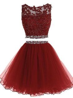 Prom Dresses For Teens, Homecoming Piece Homecoming Dresses,Sparkle Sweet 16 Dress,Homecoming pieces Cocktail Dress,Two Pieces Evening Gowns Short prom dresses and high-low prom dresses are a flirty and fun prom dress option. 2 Piece Homecoming Dresses, Cute Prom Dresses, Sweet 16 Dresses, 15 Dresses, Pretty Dresses, Beautiful Dresses, Formal Dresses, Dress Prom, Party Dress