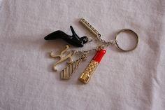 "Folded Key ring, inspired by Kandie Stixx's book ""Kendra"" https://www.facebook.com/KandieStixx?fref=ts"