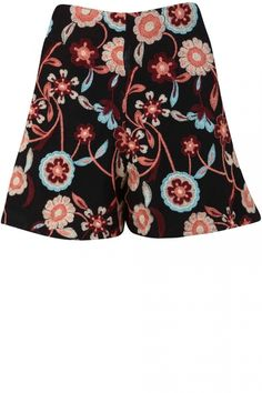 Miss Selfridge Embroidered Shorts, £45