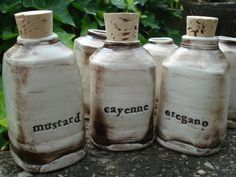Herb and Spice Jars