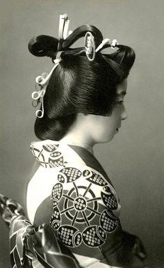 Shimada-mage 1920s
