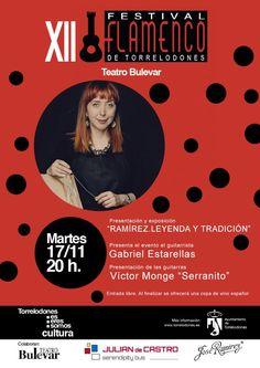 @GUITARRARAMIREZ: 17 de noviembre Ramírez participará en el XII Festival Flamenco de Torrelodones