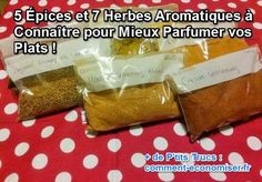 Le guide des épices et herbes aromtiques pour parfumer les plats et pour la santé