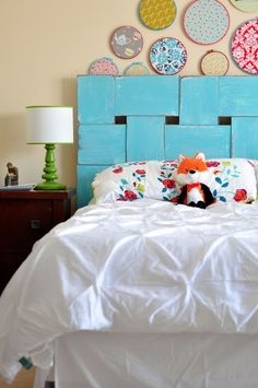 I think I found the headboard for our room! project headboard. {DIY headboard}