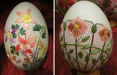 Vyšívané veľkonočné vajíčka | Návod ako na to a inšpirácie 07