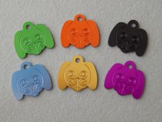 Laser Engraved Puppy Face Dog ID Tag by BlackDogEngraving on Etsy, $6.50 15% off promo code HOLIDAY
