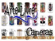 Presenteie quem você gosta com lindas canecas Arte Livre!!!!!  Canecas personalizadas com o tema que você escolher, é só enviar-nos o que deseja que elaboramos a sua arte e com um sublime toque você encantará a quem deseja.