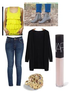 A fashion look from December 2015 featuring long loose tops, zipper skinny jeans and gray leather boots. Browse and shop related looks. Pll Outfits, Preppy Outfits, Winter Fashion Casual, Casual Winter Outfits, Pretty Little Liars Outfits, Fall College Outfits, Korean Street Fashion, Fitness, Nars Cosmetics