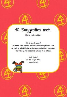 * Kringactiviteiten: 40 leuke suggesties met kleine zakjes... Creative Kids, School Teacher, Activities For Kids, December, Classroom, Teaching, Fun, Mardi Gras, Pirates