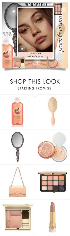 """""""She's a Peach: Peach Lipstick"""" by beautifulplace ❤ liked on Polyvore featuring beauty, AERIN, Sephora Collection and peachlipstick"""