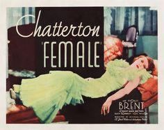 1933 - FEMALE - Michael Curtiz