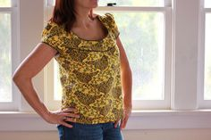 McCall's 5576 cut short for a top