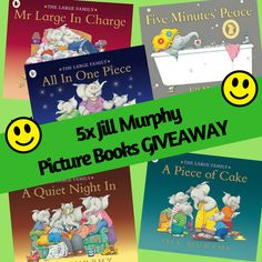 "Win 5x Jill Murphy ""The Large Family"" picture books #giveaway"
