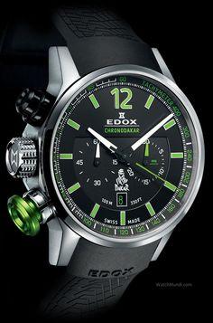 Edox - Chronodakar III Limited Edition. Driven To Distinction. Sound, robust and reliable.