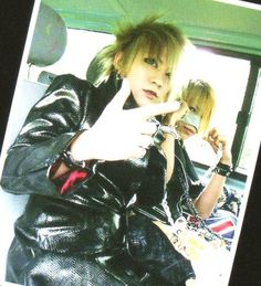 Ruki and Reita. The GazettE