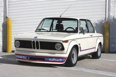 A BMW 2002 tii Turbo. Epic win.