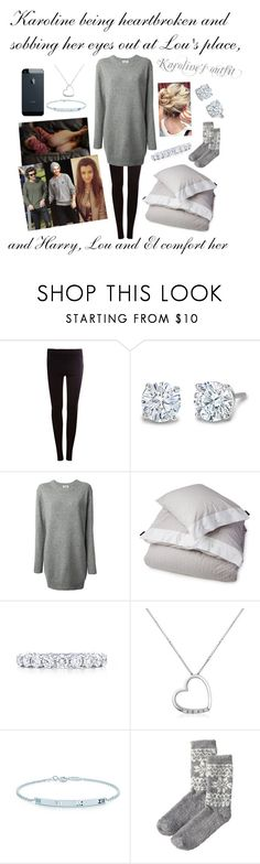 """""""Karoline being heartbroken and sobbing her eyes out at Lou's place"""" by karolinebhn ❤ liked on Polyvore featuring Pull&Bear, Calder, Acne Studios, Lexington, Tiffany & Co., Forzieri and Woolrich"""