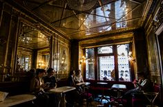 Caffè Florian: the oldest cafe in Venice (1720) | order the 'Casanova' (mint hot chocolate) or an espresso