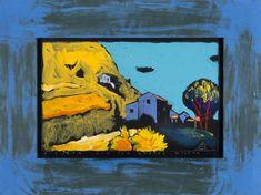 Boris Jirků - Via Era Grotte Milena - Galerijní ulice - Ostrava - Moravskoslezský kraj Ulice, Painting, Art, Cave, Painting Art, Paintings, Kunst, Paint, Draw