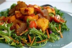 West African Ponmo Salad — My Active Kitchen-Ponmo Salad West African Food, Recipes With Few Ingredients, Quick Easy Meals, A Food, Salads, Yummy Food, Eat, Cooking, Healthy