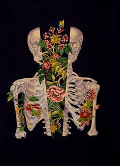 Collage artist Travis Bedel created these stunning collages that merge anatomical imagery with illustrations from science guides, textbooks,. Psychedelic Art, Inspiration Art, Art Inspo, Travis Bedel, Collages, Art Du Collage, Street Art, Street Style, Psy Art