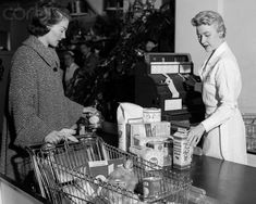 1955 - It's too bad things are so tough nowadays. I see where a few married women are having to work to make ends meet. Couponing For Beginners, Start Couponing, Married Woman, Good Ole, The Good Old Days, Back In The Day, Grocery Store, Grocery Ads, Childhood Memories